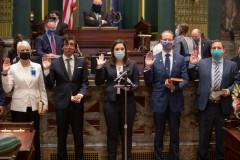 January 5, 2021: Senator Amanda Cappelletti is sworn in to the Pennsylvania State Senate.