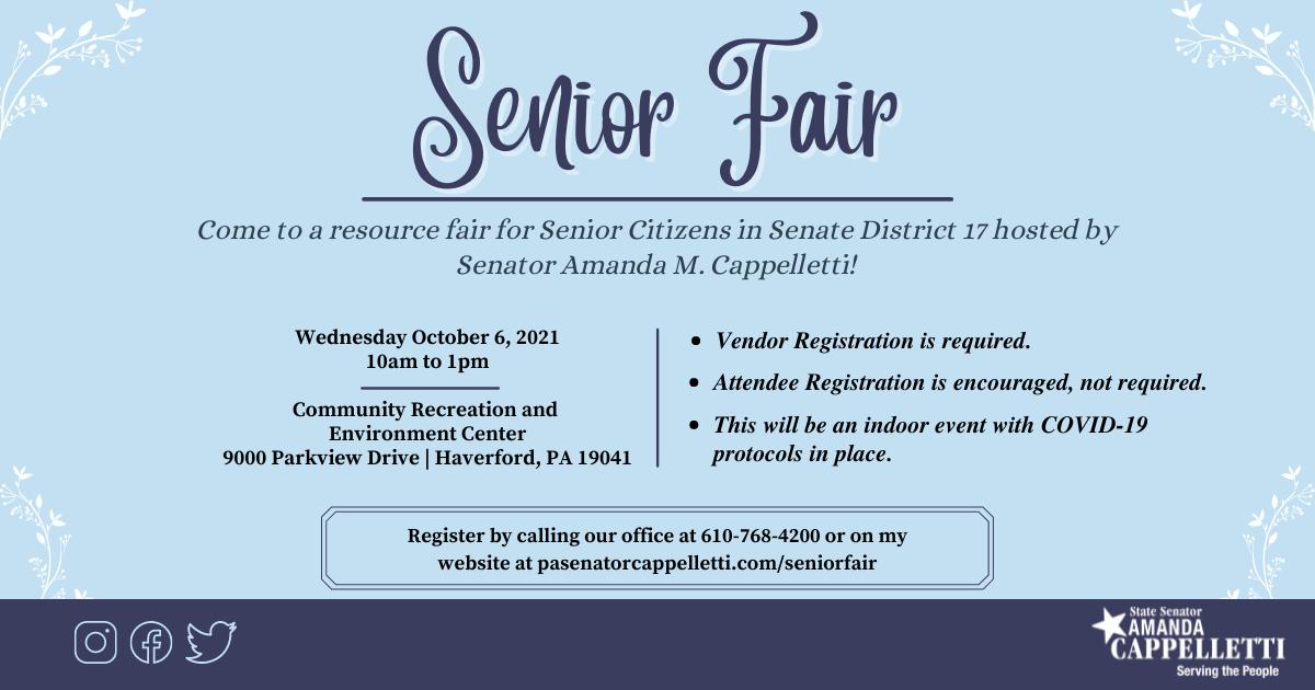 Senior Fair 2021